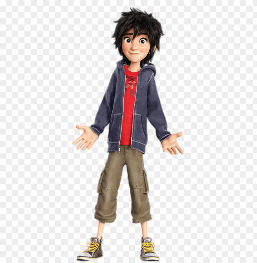 Download big hero 6 hiro hamada clipart png photo.