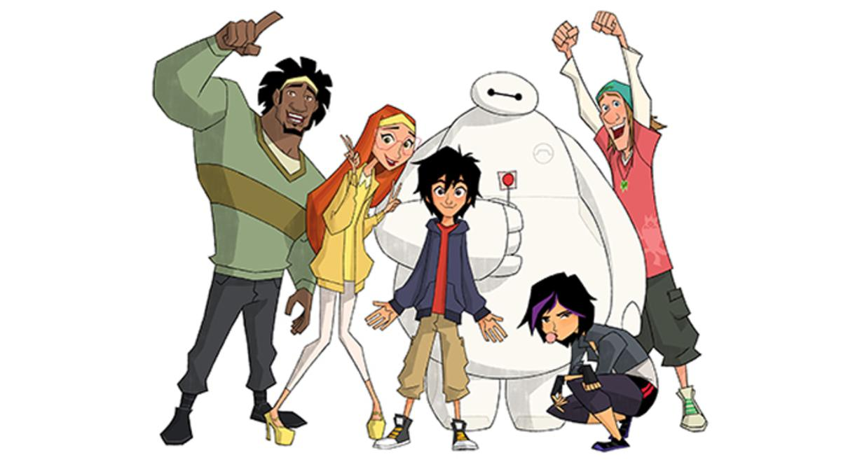 Disney releases first trailer for Big Hero 6: The Series.