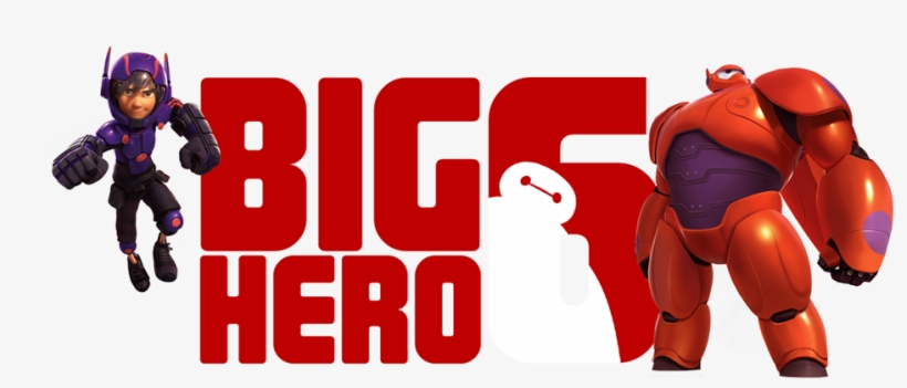 Big Hero 6 New Logo And Poster.