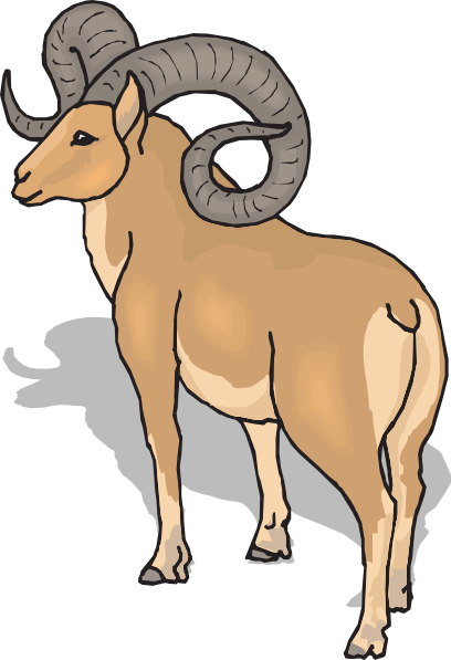 Big Horn Mountain Clipart.
