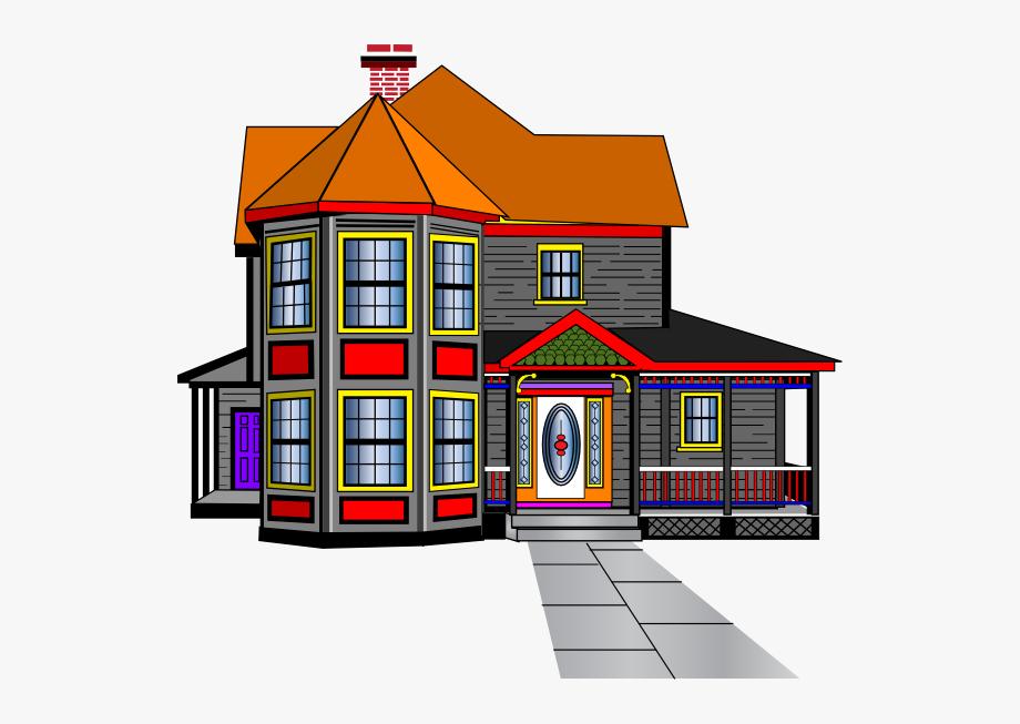 Big House Clipart.