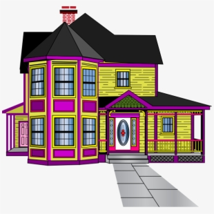 Big House Clipart.