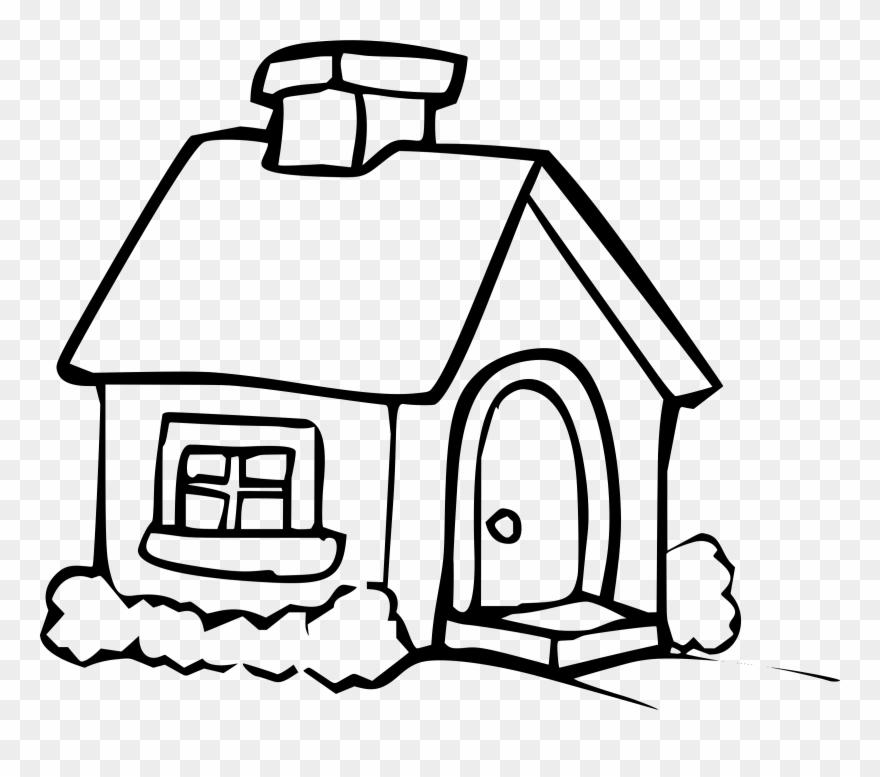 Hut Clipart Big House.