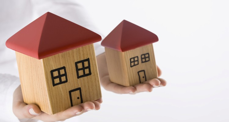 Big And Small House Clipart.