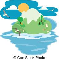 Big island Clip Art Vector and Illustration. 877 Big island.