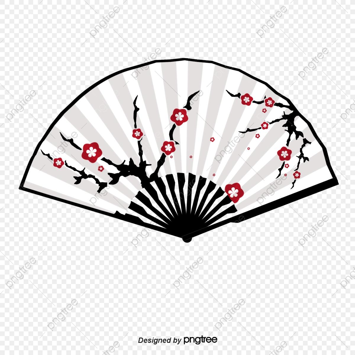 Fan clipart japanese style, Fan japanese style Transparent.