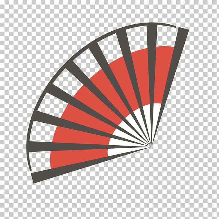 Paper Hand fan TIFF, Japan Japanese fan pattern PNG clipart.