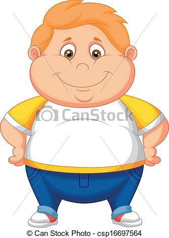 Fat Boy Clipart.