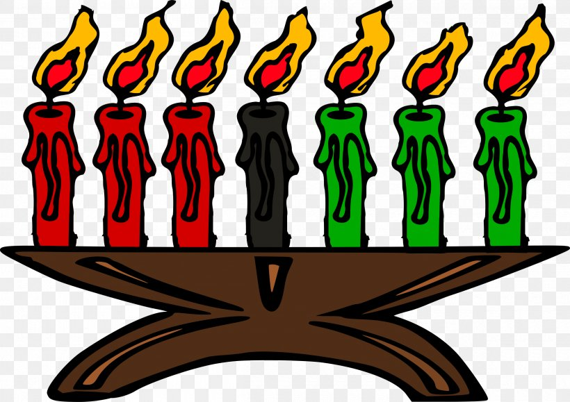 Celebrate Kwanzaa Kinara Clip Art Candle, PNG, 2400x1697px.