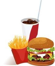 Bigmac hamburger 2, Vector.