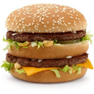 McDonald's Big Mac Meal Clip Art.