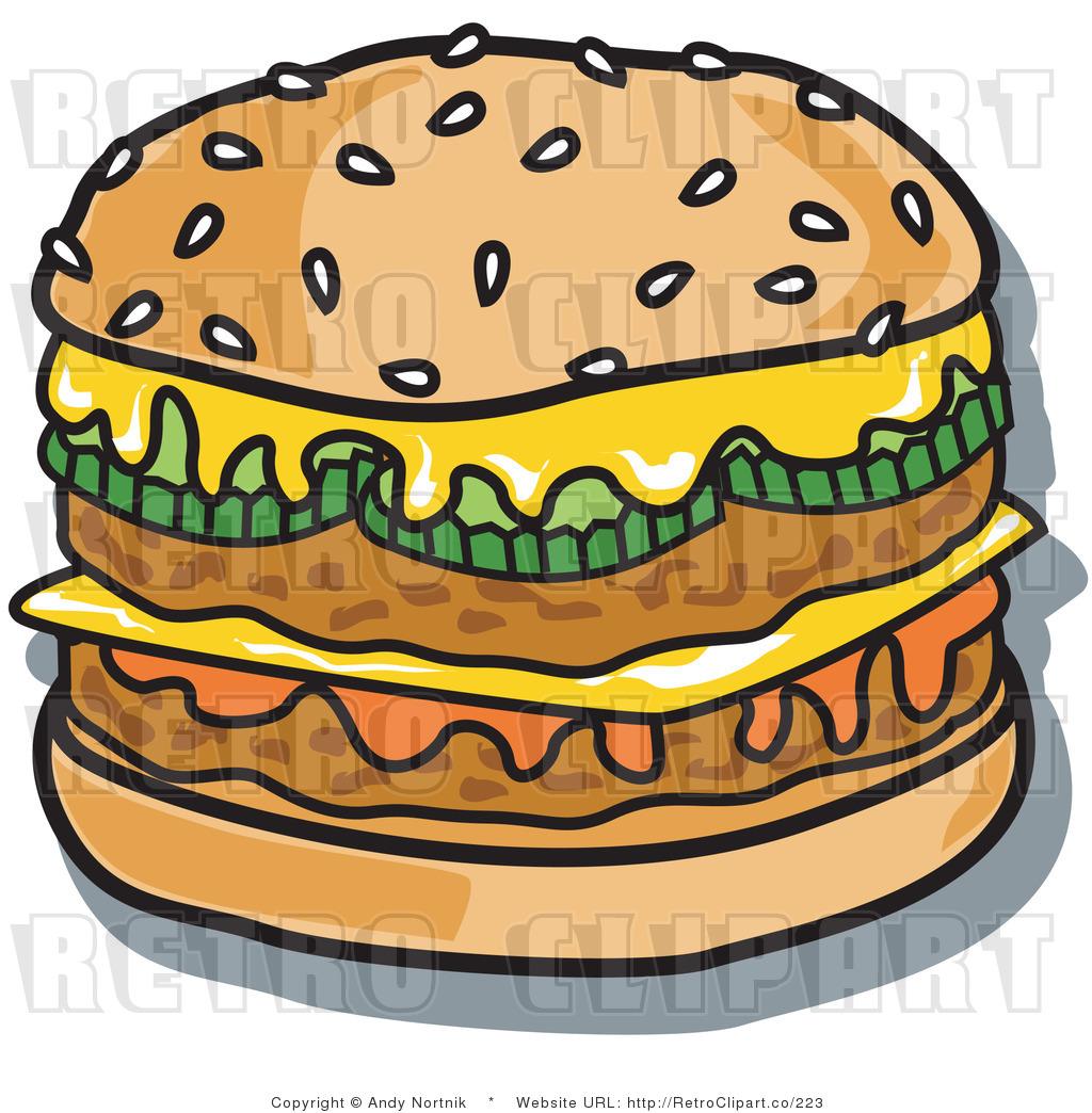 Big Mac Clip Art.