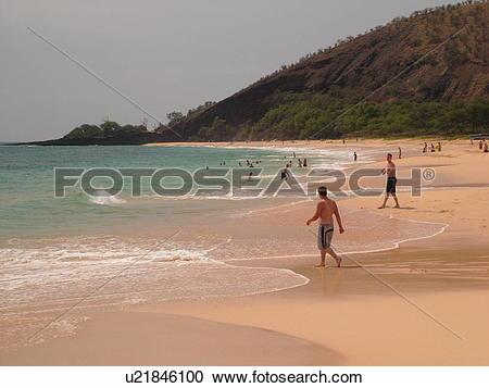Big makena beach clipart #4