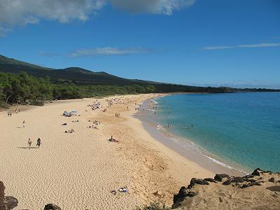 big beach makena maui hawaii.