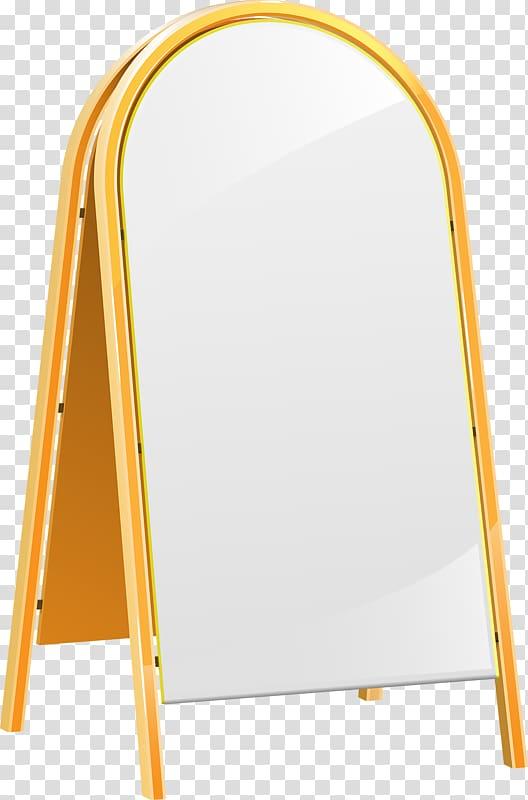 Video card Advertising Mirror, Big mirror transparent.
