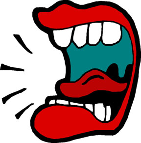 Big Mouth Clipart.