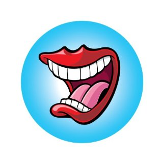 Big mouth pictures clip art.