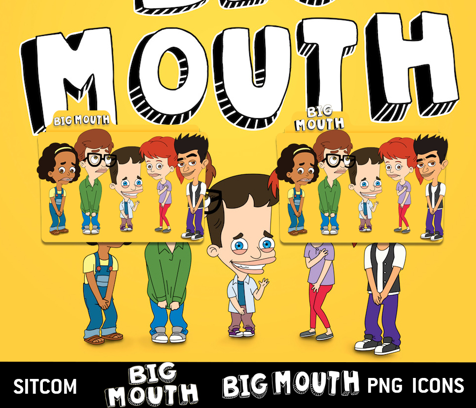 Big Mouth (2017) Folder Icon Pack by ederzasso on DeviantArt.