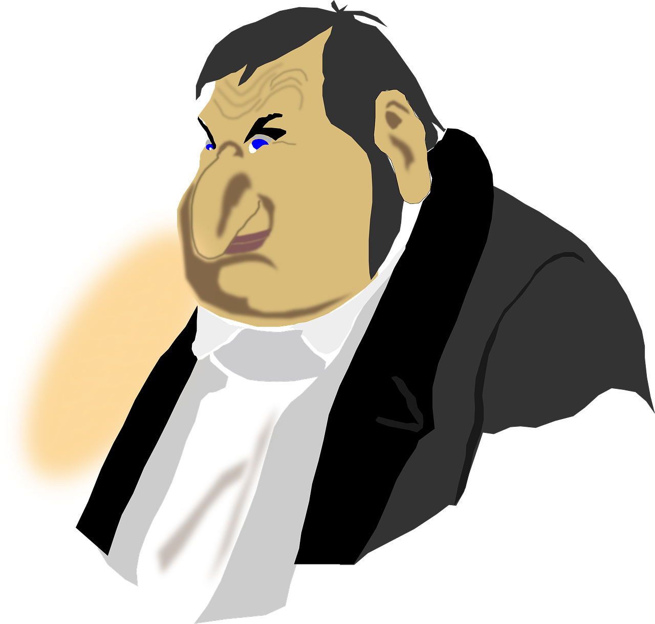 Man Nose Person Big Nose Grimly PNG.