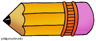 Large Pencil Clipart.