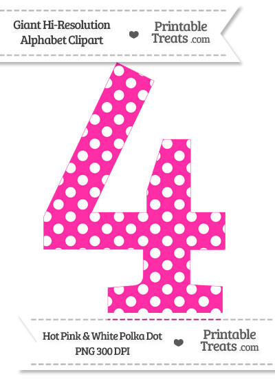Big Polka Dot Clipart Of The Number 1 Clipground