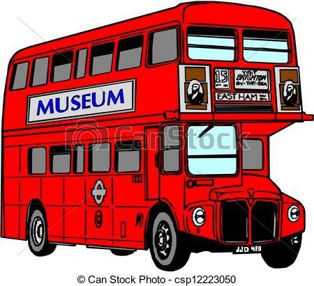 London Bus Clip Art.