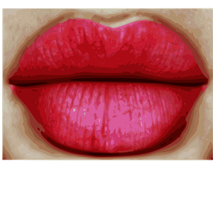 Big Red Lips clipart, cliparts of Big Red Lips free download (wmf.