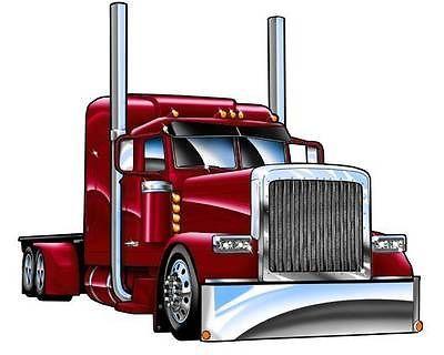 Peterbilt Truck Clip Art.