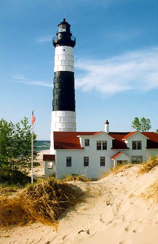 Big sable lighthouse clipart #6