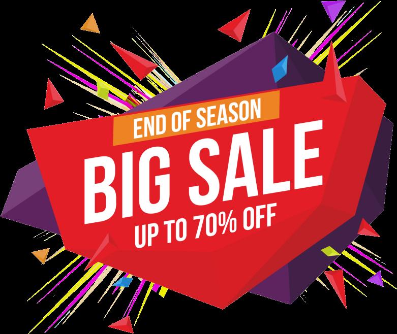 Big Sale Promotion Png.