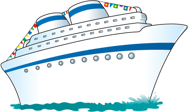 892 Cruise Ship free clipart.