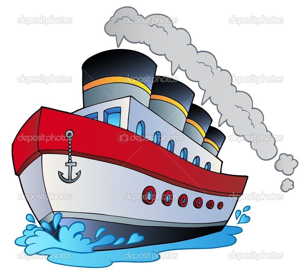 Cartoon Boat.