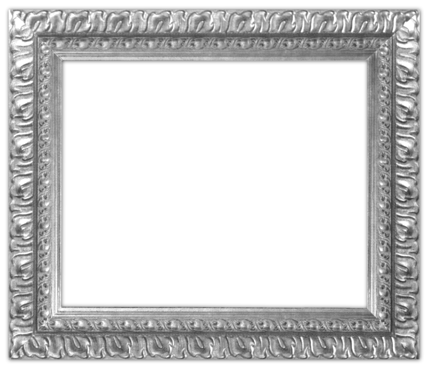 silver frames.