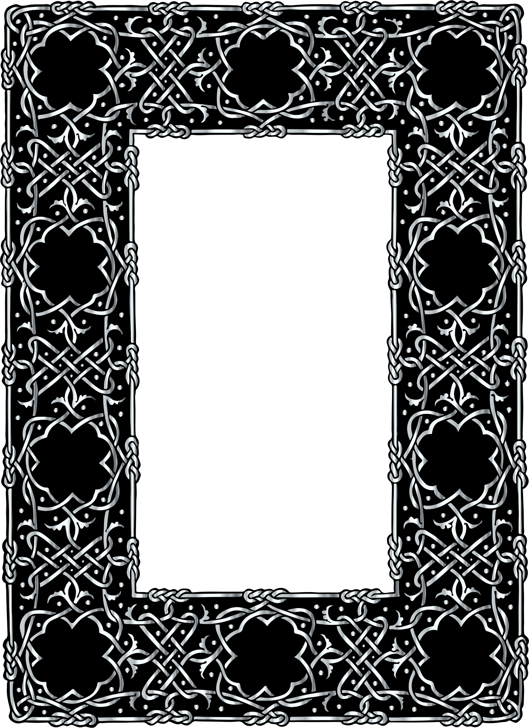 Frame clipart silver, Frame silver Transparent FREE for.