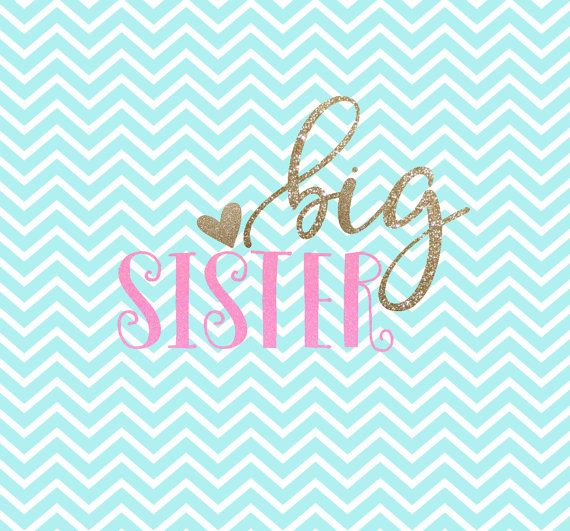 Big Sister SVG Big Sister SVG Clipart by.