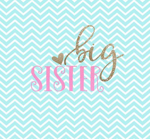 Big Sister SVG Big Sister SVG Clipart by.