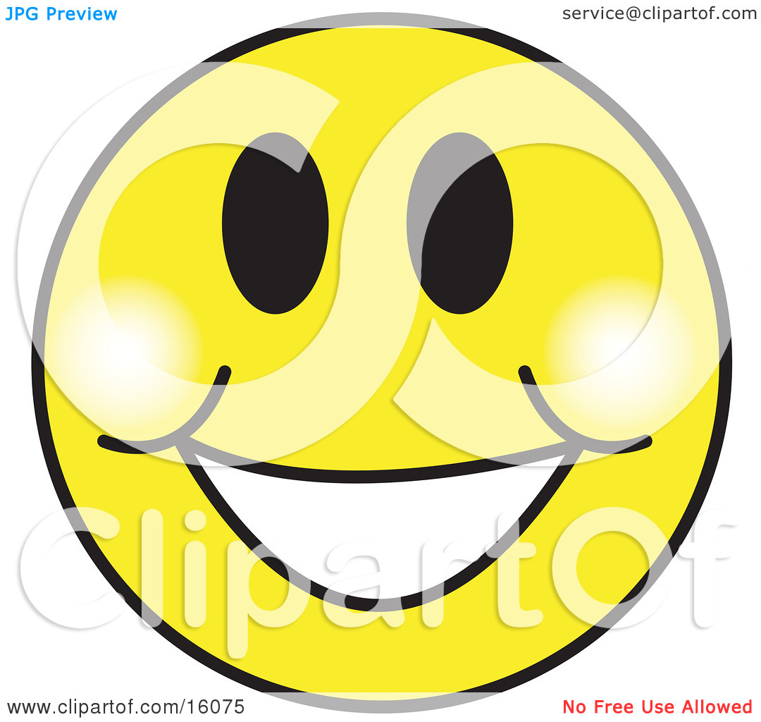 With A Big Smile Clipart.