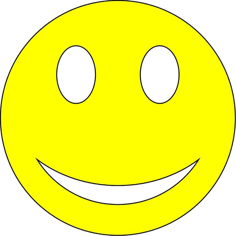 Big Smiley Face Clip Art N15 free image.