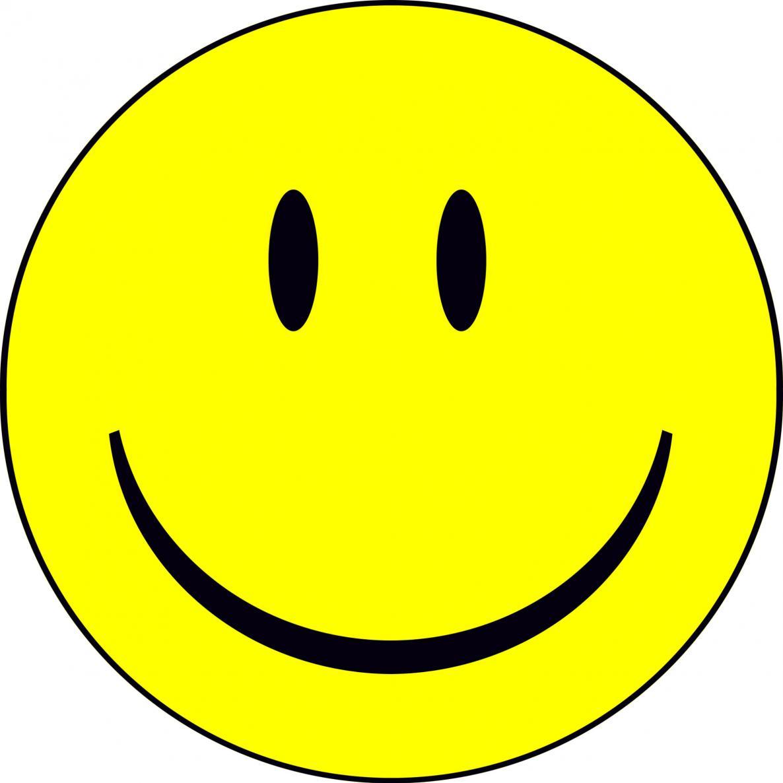 Big smiley face clip art.