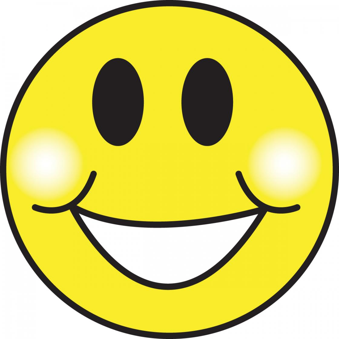 Big Smiley Face Clip Art N6 free image.