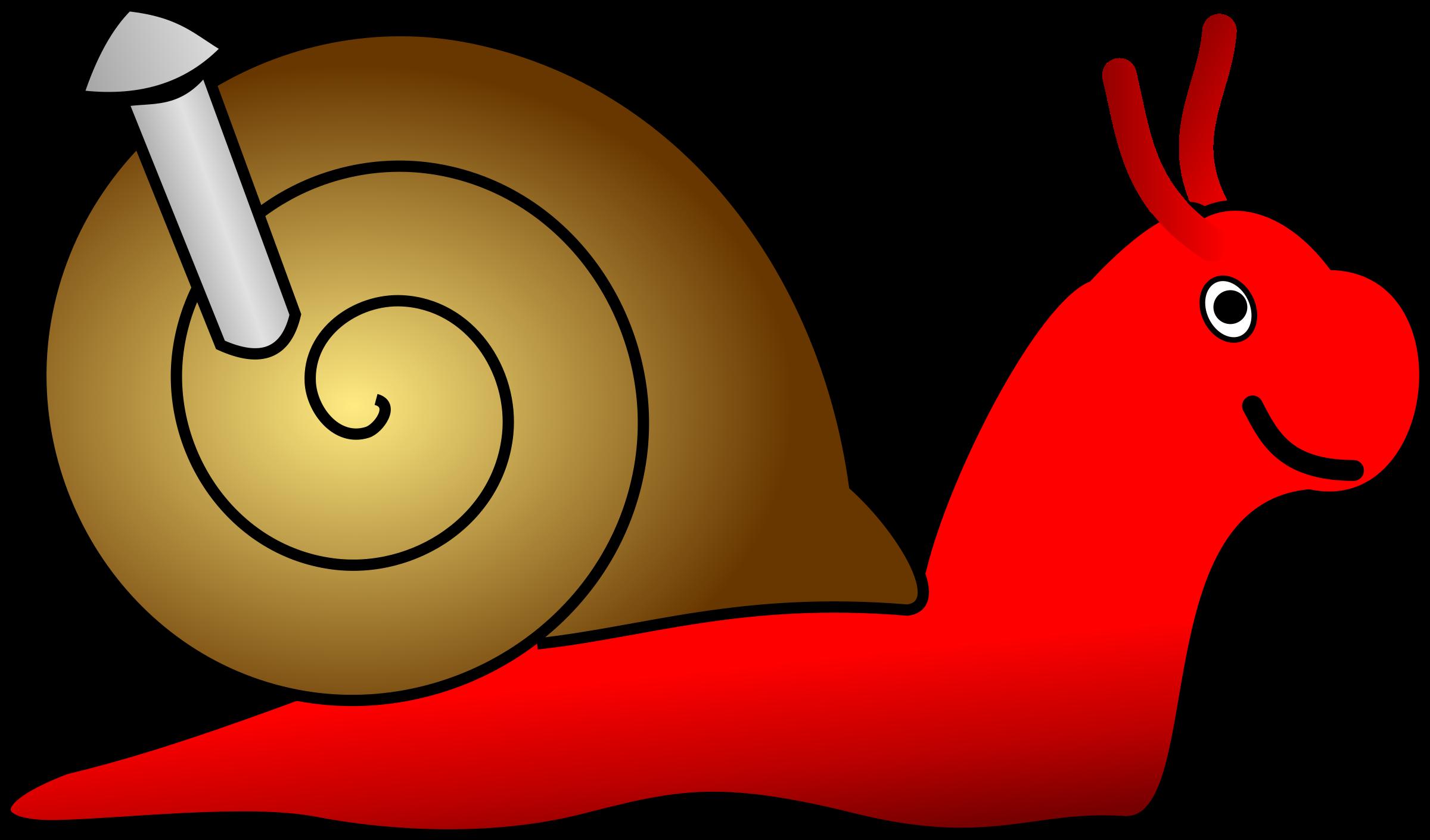 Big snail clipart clipground - Clipart escargot ...