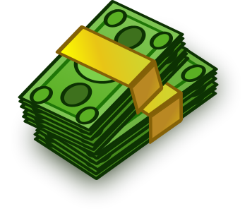 Stack Of Cash Clipart.
