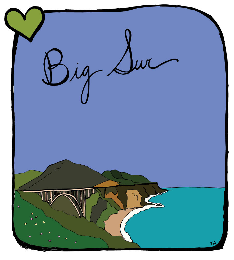 Heaven on Earth in Big Sur — suitcase heart.