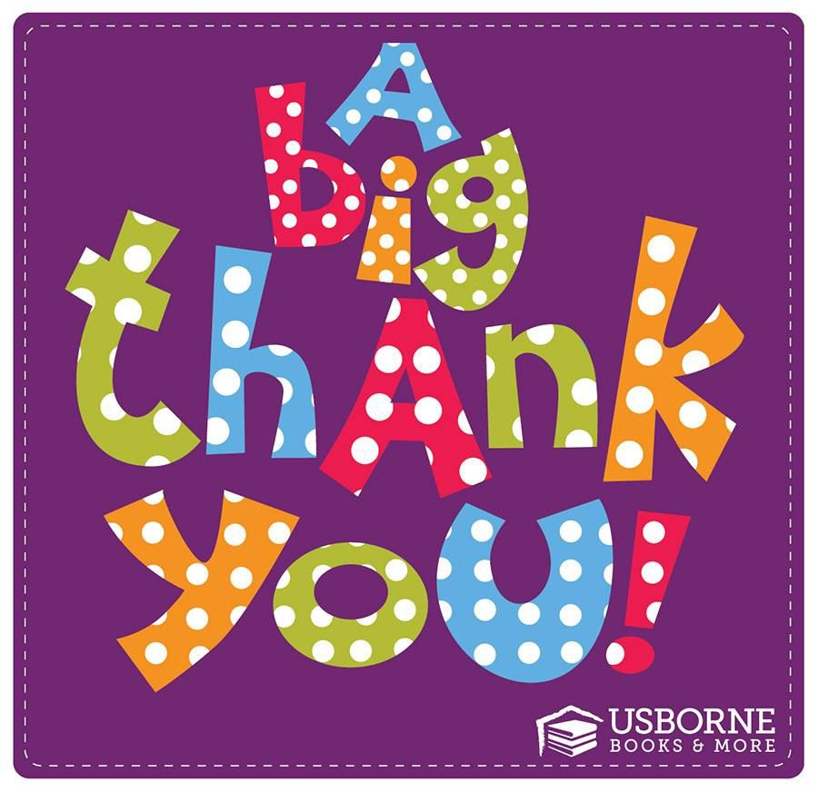 A big Thank You Clipart from Usborne Books and More www.