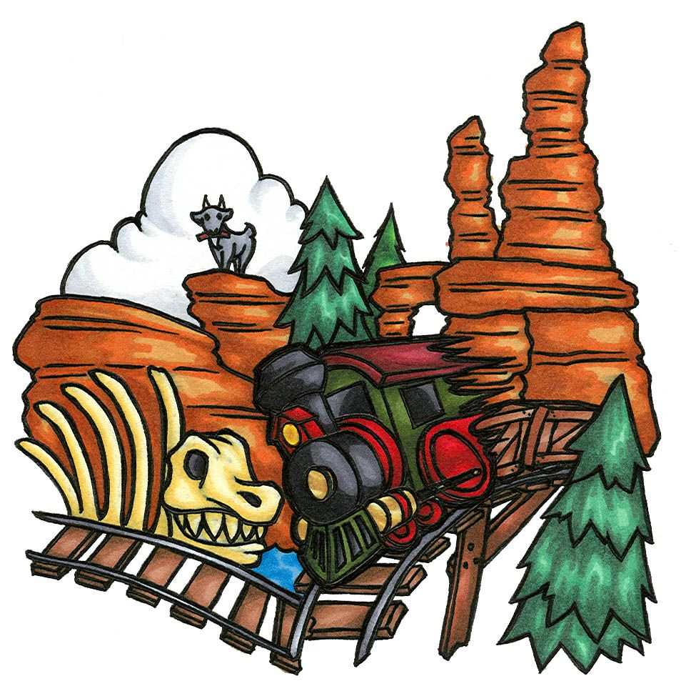 Big Thunder MountainWildest ride in the wilderness by.