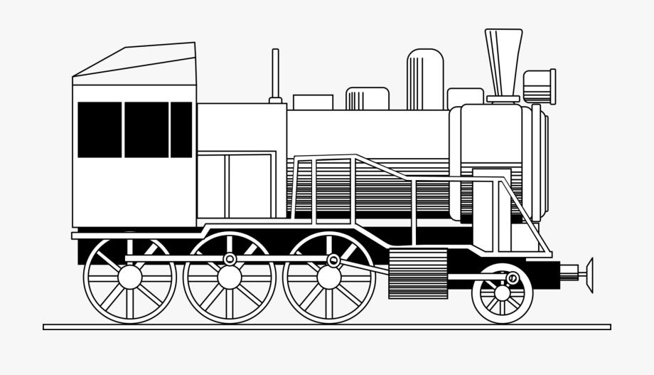 Locomotive Vector Vintage.