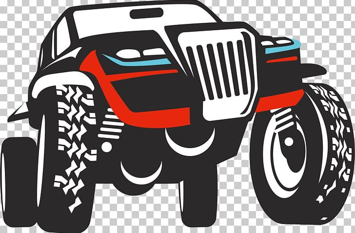 Car Sport Utility Vehicle Jeep Off.
