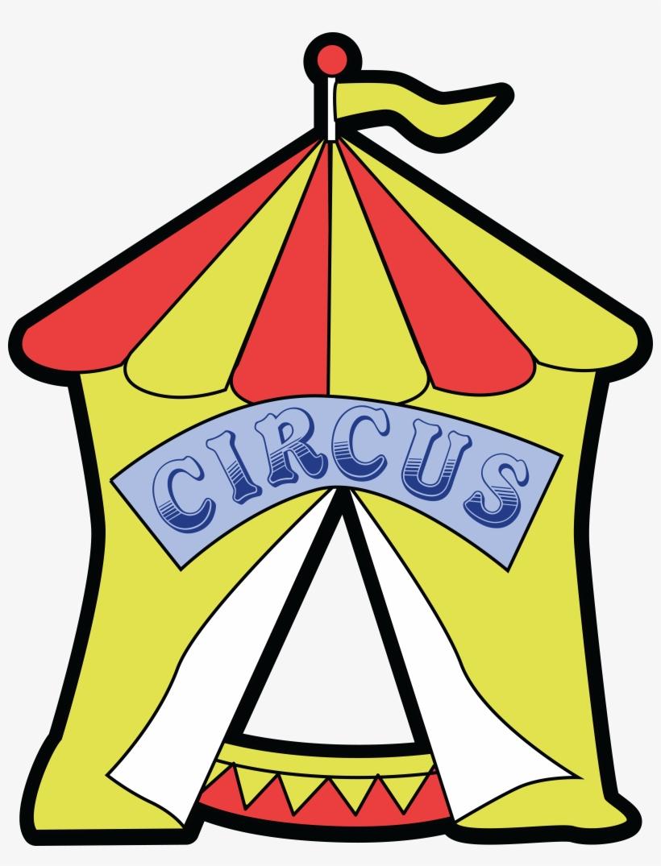 Free Clipart Of A Big Top Circus Tent.