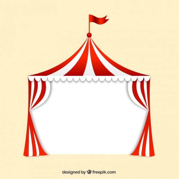 Big Top Circus Free Vector.