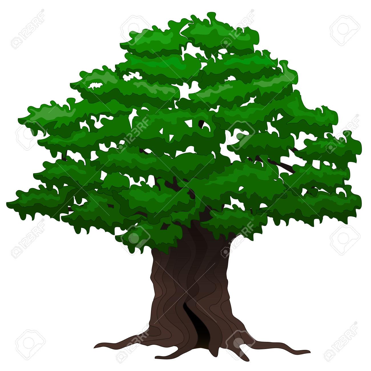 Big Tree Clipart.
